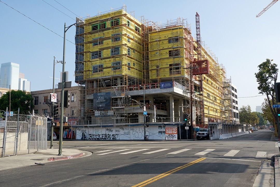 New Joshua House Under Construction
