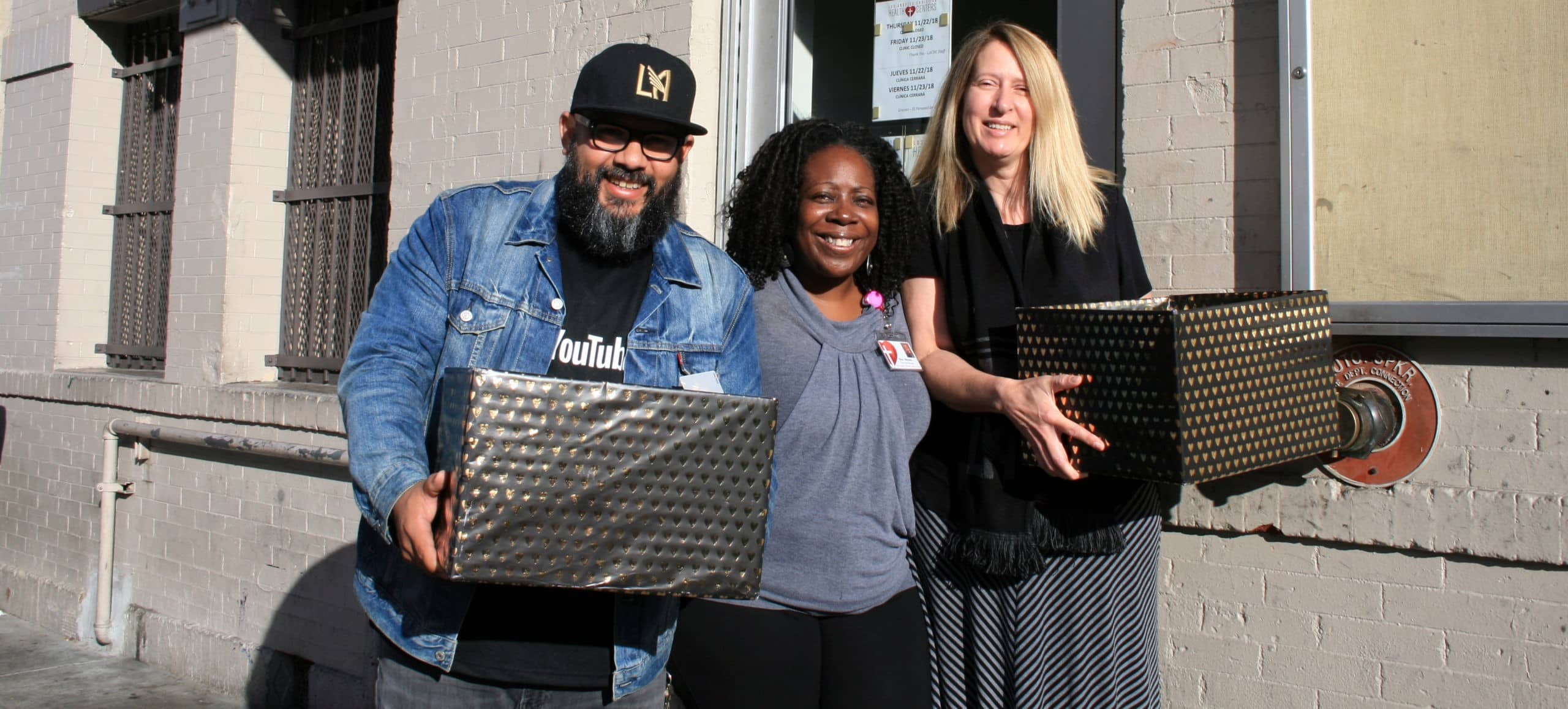 LACHC Delivers Move-In Kits