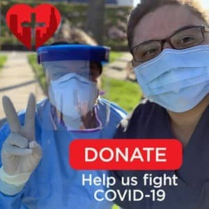 Donate to LACHC's COVID-19 Efforts